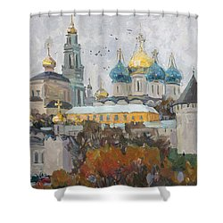 Trinity-st. Sergius Lavra Shower Curtain