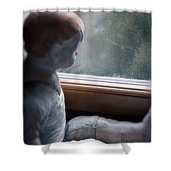 Tristesse Shower Curtain by Joana Kruse