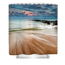 Tropic Sky Shower Curtain by Evgeni Dinev