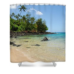 Shower Curtain featuring the photograph Tropical Paradise by Lynn Bauer