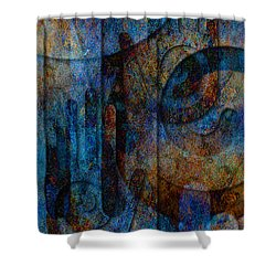 True North Shower Curtain by Kenneth Armand Johnson