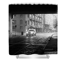 Shower Curtain featuring the photograph Tunnel I by Lynn Palmer