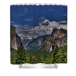 Tunnel View Shower Curtain