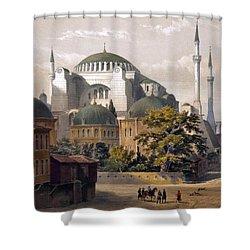 Turkey: Hagia Sophia, 1852 Shower Curtain by Granger