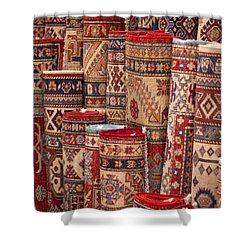 Turkish Carpets Shower Curtain