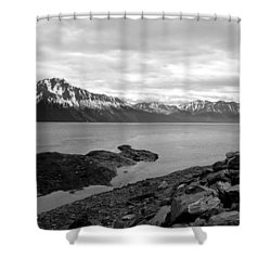Turnagain Arm Alaska Shower Curtain