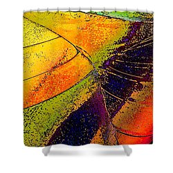 Shower Curtain featuring the photograph Turning Purple  by David Pantuso