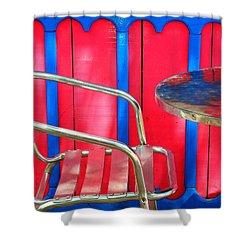 Tuscadero Shower Curtain by Skip Hunt