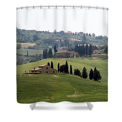 Shower Curtain featuring the photograph Tuscany by Carla Parris