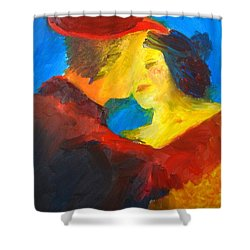 Two Am Tango Shower Curtain