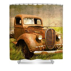 Two Ton Truck Shower Curtain by Alyce Taylor