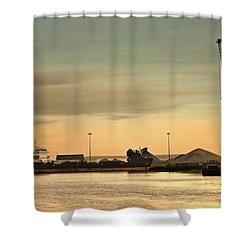Tyne And Wear, Sunderland, England Shower Curtain by John Short