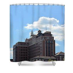 Uab Hillman Shower Curtain by Maria Urso