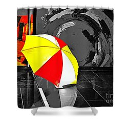 Umbrella 2 Shower Curtain