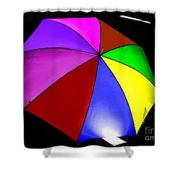 Shower Curtain featuring the photograph Umbrella by Blair Stuart