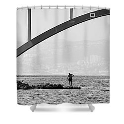 Under The Bridge 2 Shower Curtain