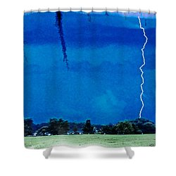 Shower Curtain featuring the photograph Underneath- My Fears by Janie Johnson