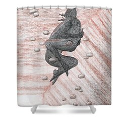 Underwater Embrace Shower Curtain