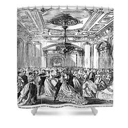 Union League Club, 1868 Shower Curtain by Granger