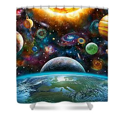 Universal Light Shower Curtain by Adrian Chesterman