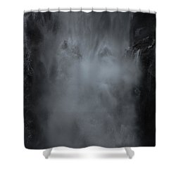 Untapped Power Shower Curtain