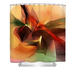 Untitled 100612 Shower Curtain by David Lane