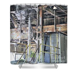 Urban Industrial Decay 2 Shower Curtain