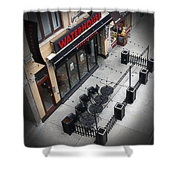 Shower Curtain featuring the photograph Urban Life by Milena Ilieva