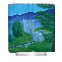 Urquhart Castle Shower Curtain