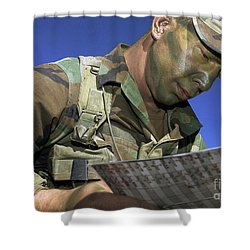 U.s. Air Force Lieutenant Reviews Shower Curtain by Stocktrek Images