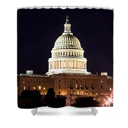 Us Senate Shower Curtain by Syed Aqueel