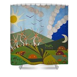 Utopia Shower Curtain