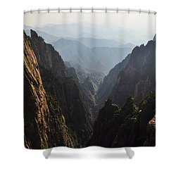 Valley In Huangshan Shower Curtain