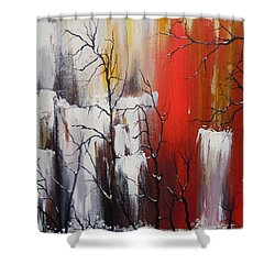Valley Of Shadows Shower Curtain
