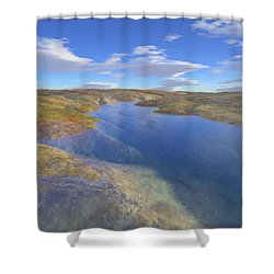 Valley Stream 2 Shower Curtain