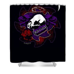 Vampyre  Shower Curtain