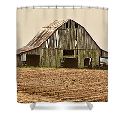 Shower Curtain featuring the photograph Vanishing American Icon by Debbie Portwood