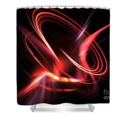 Velocity Shower Curtain by Kim Sy Ok