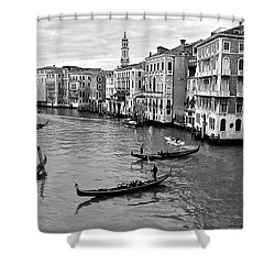 Shower Curtain featuring the photograph Venezia by Eric Tressler