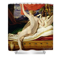 Venus Rising From Her Couch Shower Curtain by James Ward