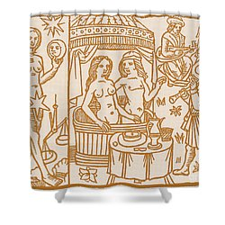 Venus, Roman Goddess Of Love Shower Curtain by Science Source