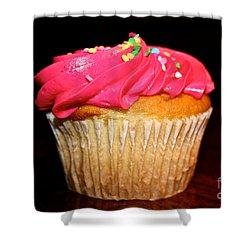 Vibrant Veggie Free Shower Curtain by Susan Herber