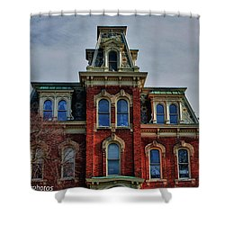 Shower Curtain featuring the photograph Victorian Beauty by Rachel Cohen