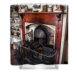 Victorian Range Shower Curtain by Adrian Evans