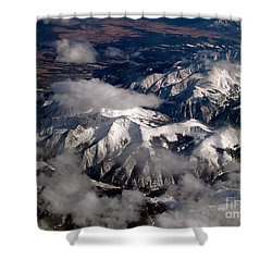 View From Above IIi Shower Curtain by Patricia Griffin Brett
