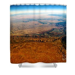 View From Above Vi Shower Curtain by Patricia Griffin Brett