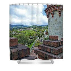 View From The City Walls - Loja - Ecuador Shower Curtain