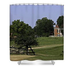 View Of Appomattox Courthouse 1 Shower Curtain by Teresa Mucha