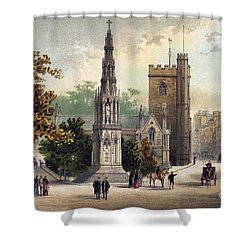 View Of Oxford, C1885 Shower Curtain by Granger