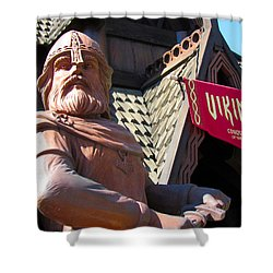Vikings Conquerors Of The Sea Shower Curtain
